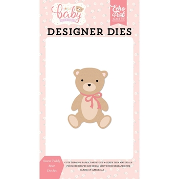 Echo Park SWEET TEDDY BEAR Die Set bg171040
