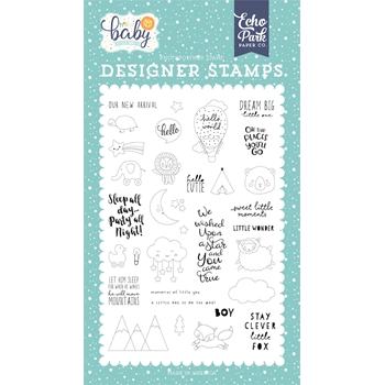 Echo Park NEW ARRIVAL Clear Stamps bb172045