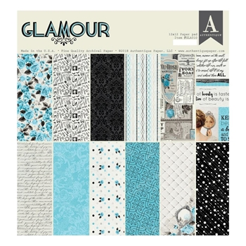 Authentique GLAMOUR 12 x 12 Paper Pad gla010