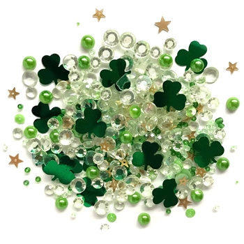 Buttons Galore and More Sparkletz LUCKY CHARMZ Embellishments SPK136