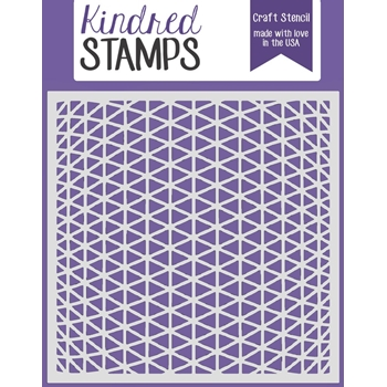 Kindred Stamps SPACESHIP PANELING Stencil 888348
