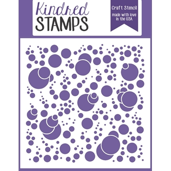 Kindred Stamps BUBBLES Stencil 96169756
