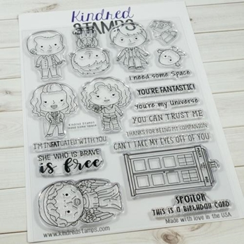 Kindred Stamps I NEED SOME SPACE Clear Stamp Set 66545692