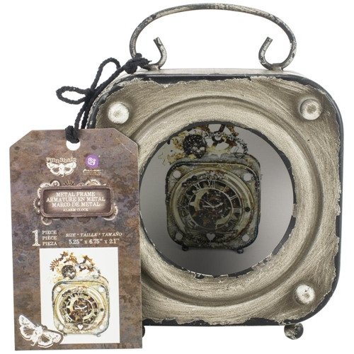 Prima Marketing ALARM CLOCK Finnabair Metal Frame 967055* Preview Image