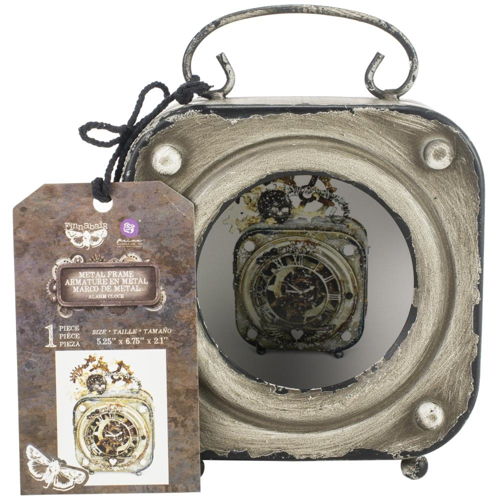 Prima Marketing ALARM CLOCK Finnabair Metal Frame 967055* zoom image