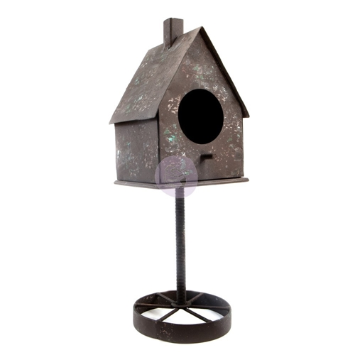 Prima Marketing RUSTY BIRDHOUSE Finnabair Metal Frame 967079 Preview Image