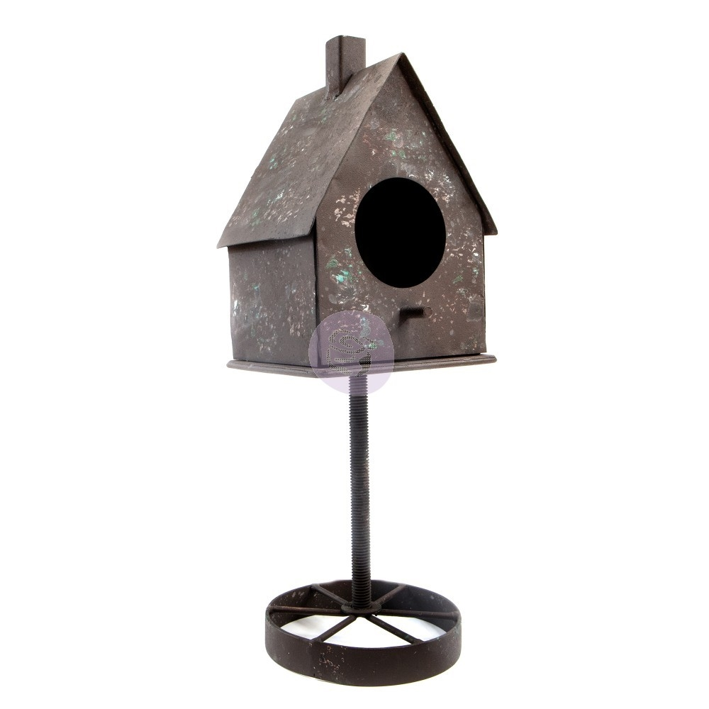 Prima Marketing RUSTY BIRDHOUSE Finnabair Metal Frame 967079 zoom image