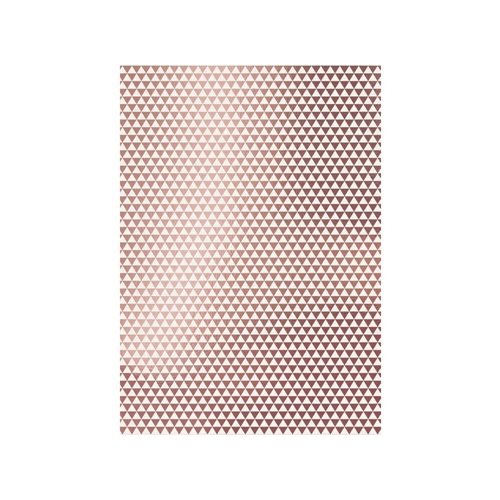 Tonic ROSE GOLD TRIANGLES A4 Craft Perfect Foiled Kraft Card 9347e Preview Image