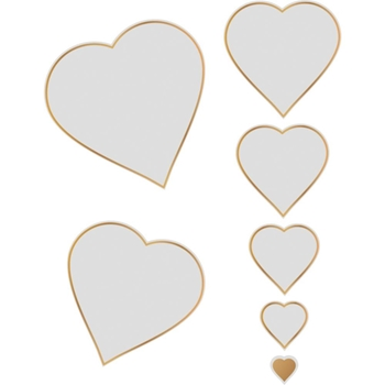 Couture Creations NESTING HEARTS Cut, Foil And Emboss Die co726458
