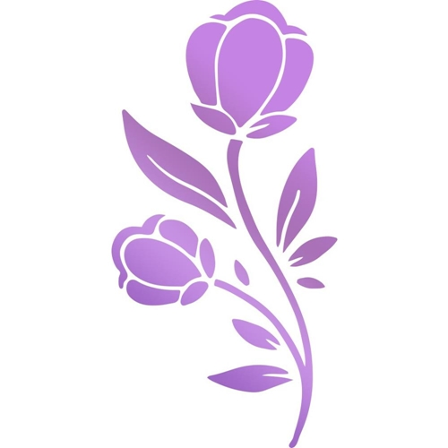 Couture Creations BLOOMING FLOWER Hotfoil Stamp Butterfly Garden co726566 Preview Image