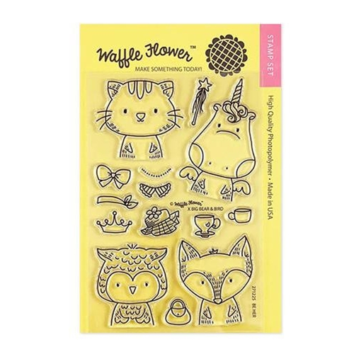 Waffle Flower BE HER Clear Stamps 271225 Preview Image