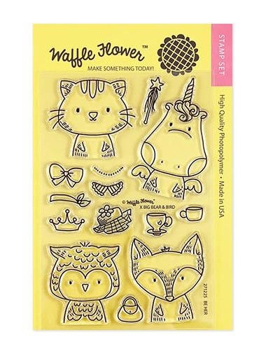 Waffle Flower BE HER Clear Stamps 271225 zoom image