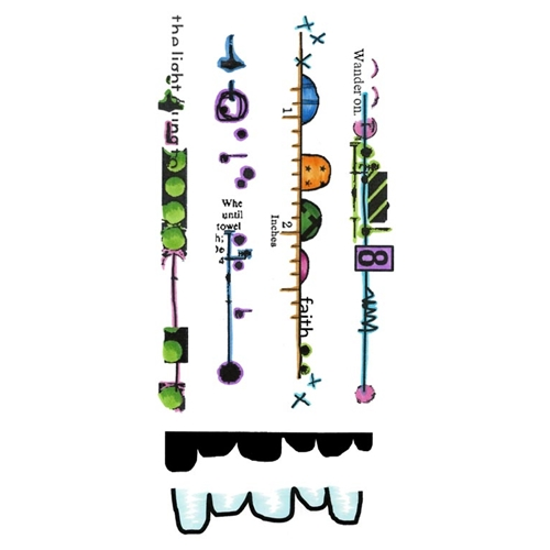 Inky Antics BIG BOLD BORDERS Clear Stamp Set 11441lc Preview Image