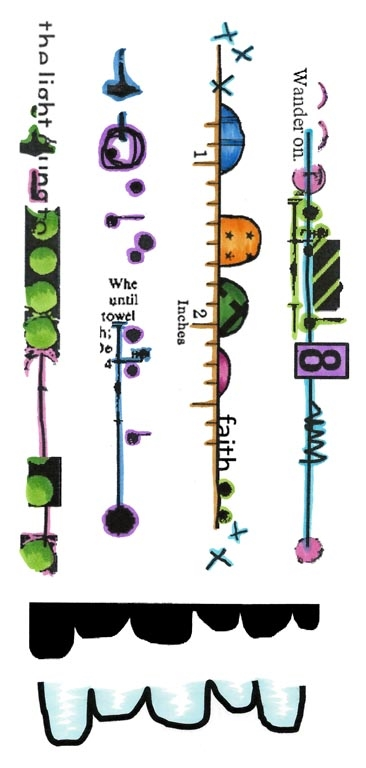 Inky Antics BIG BOLD BORDERS Clear Stamp Set 11441lc zoom image