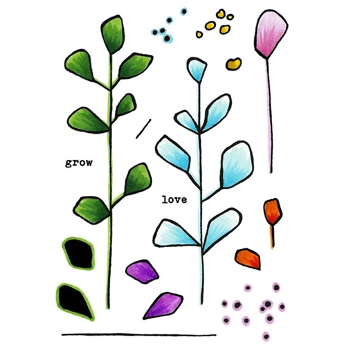 Inky Antics BRANCHING OUT Clear Stamp Set 11437mc Preview Image