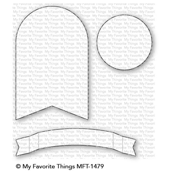 My Favorite Things TAG BUILDER BLUEPRINTS 7 Die-Namics MFT1479*