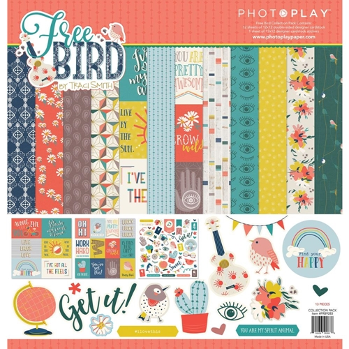 PhotoPlay FREE BIRD 12 x 12 Collection Pack frb9283 Preview Image