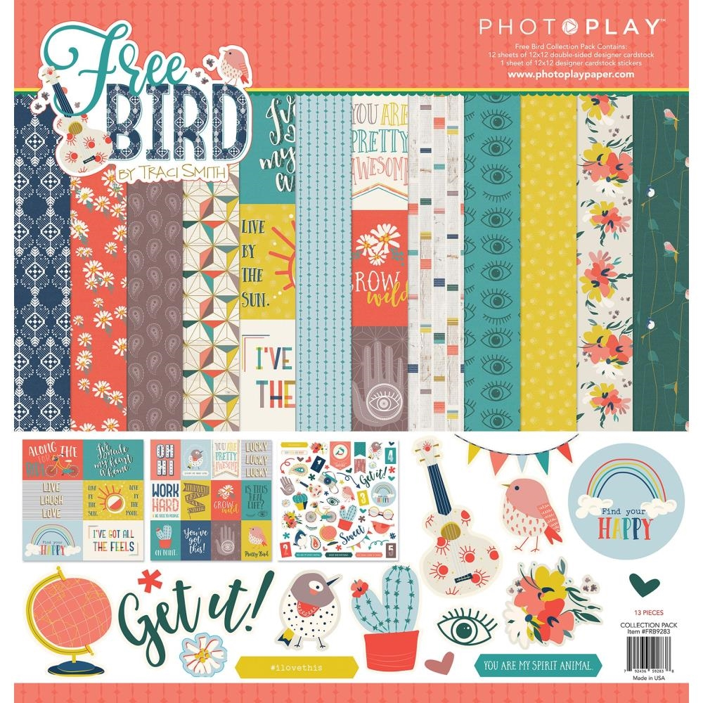 PhotoPlay FREE BIRD 12 x 12 Collection Pack frb9283 zoom image