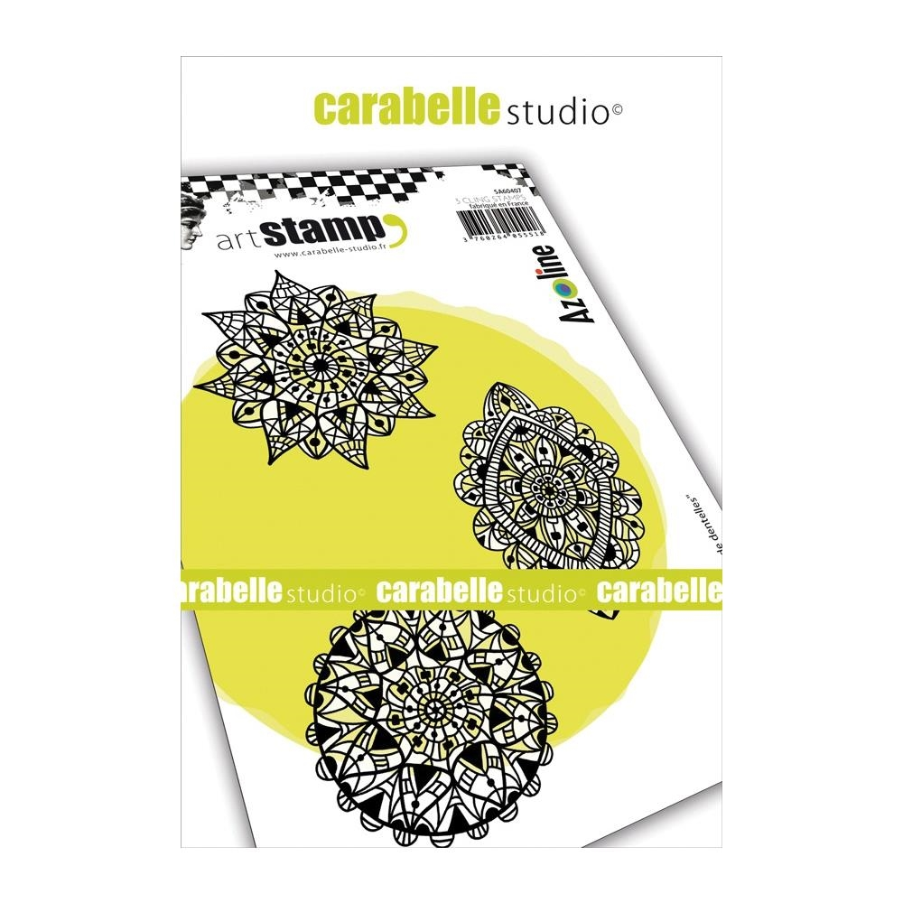 Carabelle Studio TRIO OF LACE Cling Stamps sa60407 zoom image