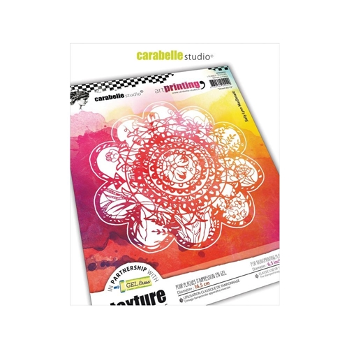 Carabelle Studio STREET ART 2 Art Printing Texture Plate Round apro60021 Preview Image