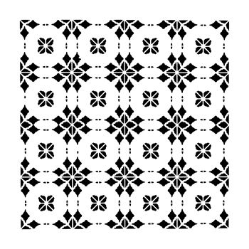 The Crafter's Workshop SMALL CIRCLE TILES 6x6 Template tcw853s