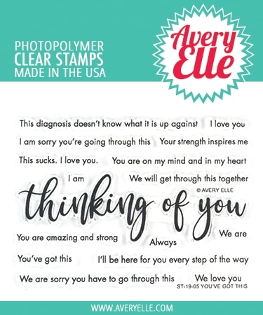 Avery Elle Clear Stamps YOU'VE GOT THIS ST-19-05 zoom image