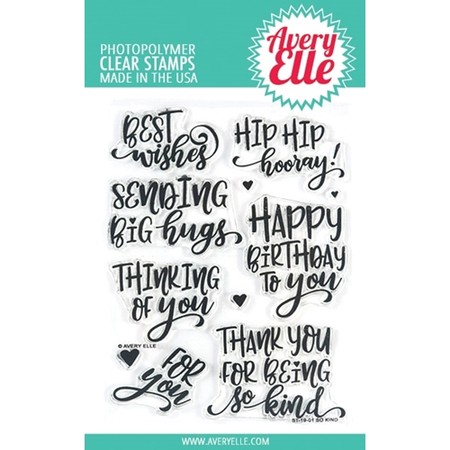 Avery Elle Clear Stamps SO KIND ST-19-01* Preview Image