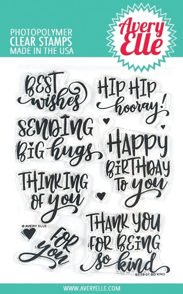 Avery Elle Clear Stamps SO KIND ST-19-01* zoom image