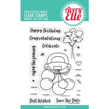 Avery Elle Clear Stamps JOURNEY ST-19-04*