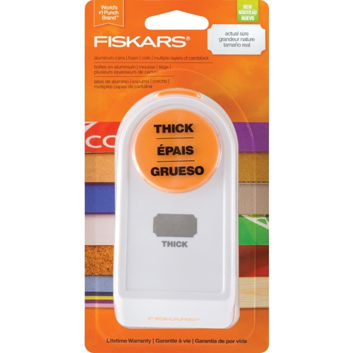 Fiskars POWER PUNCH Label Shape Built to DIY 05879 Preview Image