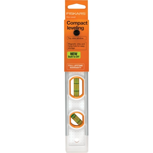 Fiskars PRECISION COMPACT LEVELER 9 INCH Built to DIY 06198* Preview Image
