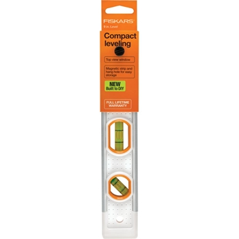 Fiskars PRECISION COMPACT LEVELER 9 INCH Built to DIY 06198*