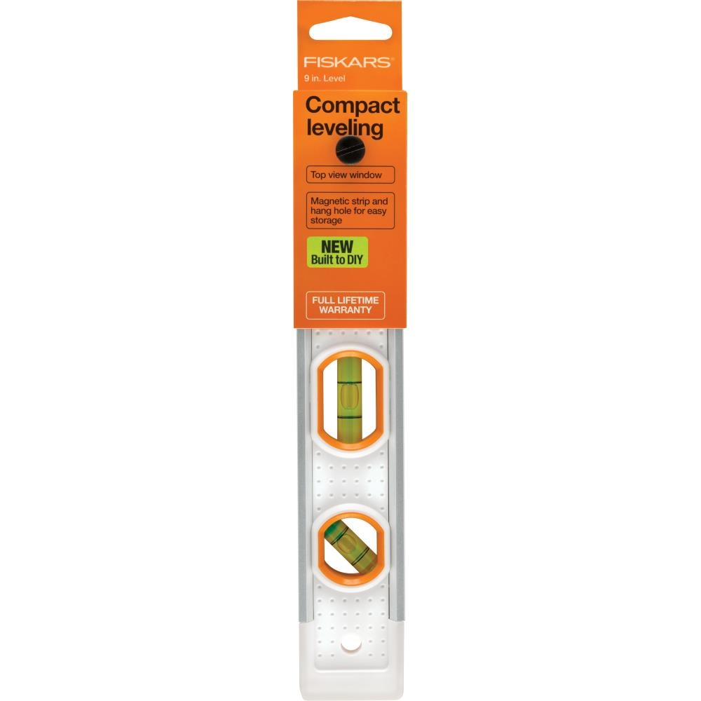 Fiskars PRECISION COMPACT LEVELER 9 INCH Built to DIY 06198 zoom image