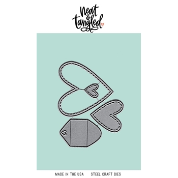 Neat and Tangled LOVE MAIL Dies NAT456