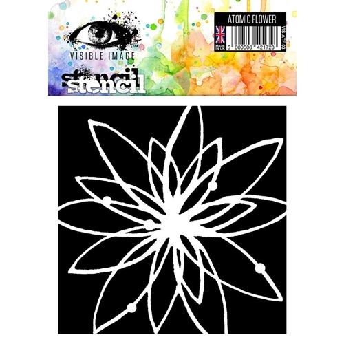 Visible Image ATOMIC FLOWER Stencil VIS-ATF-03 Preview Image
