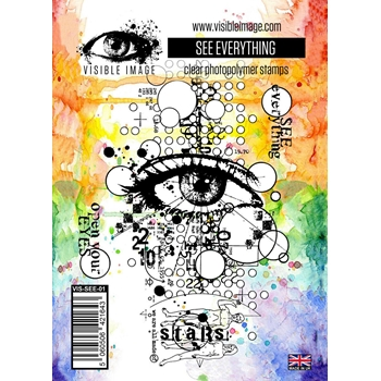 Visible Image SEE EVERYTHING Clear Stamps VIS-SEE-01