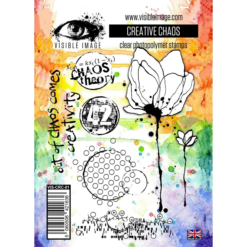 Visible Image CREATIVE CHAOS Clear Stamps VIS-CRC-01 zoom image