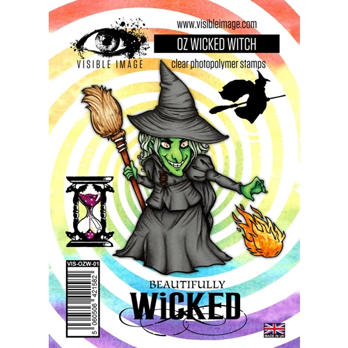 Visible Image OZ WICKED WITCH Clear Stamps VIS-OZW-01 Preview Image