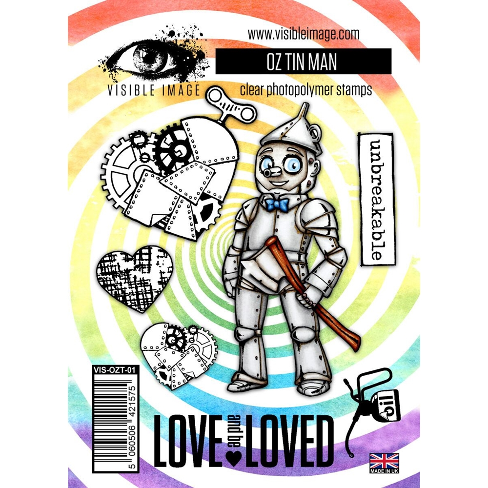 Visible Image OZ TIN MAN Clear Stamps VIS-OZT-01 zoom image