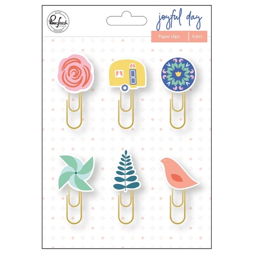 Pinkfresh Studio JOYFUL DAY Paper Clips pfrc200719 Preview Image