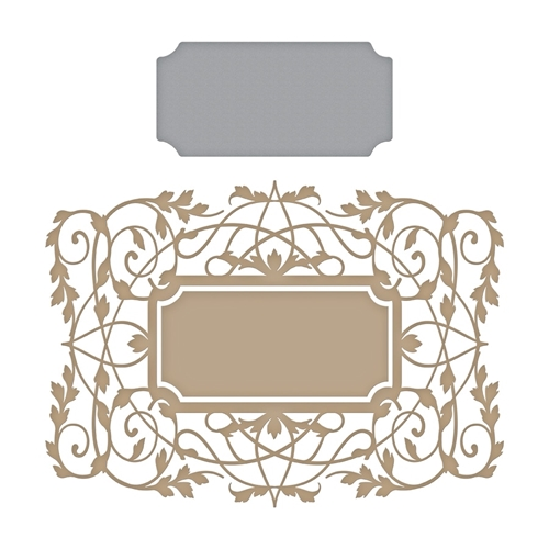 GLP-118 Spellbinders GILDED VINES Hot Foil Plate Preview Image