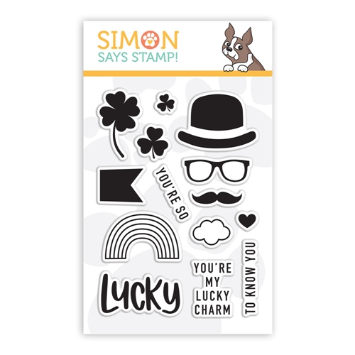 Simon Says Clear Stamps LUCKY sss101977  Preview Image