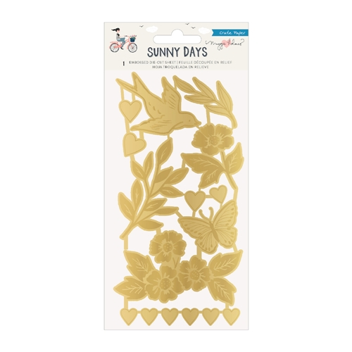 Crate Paper SUNNY DAYS Embossed Die Cuts 350804 Preview Image
