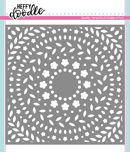 Heffy Doodle RING A ROSIES Stencil hfd0119 zoom image