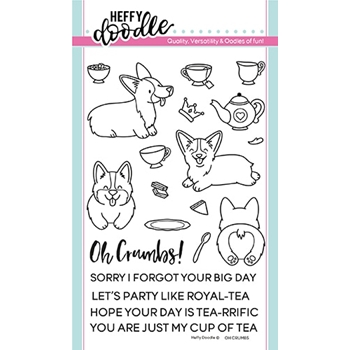Heffy Doodle OH CRUMBS Clear Stamps hfd0133