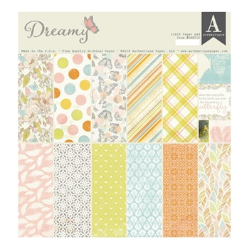 Authentique DREAMY 12 x 12 Paper Pad dre010