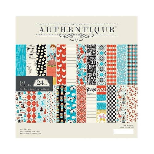 Authentique INGREDIENT 8 x 8 Paper Pad ing014* Preview Image