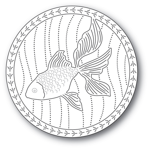 Memory Box SERENE GOLDFISH Craft Die 94223 Preview Image