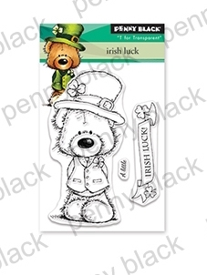 Penny Black Clear Stamps IRISH LUCK 30-538 zoom image