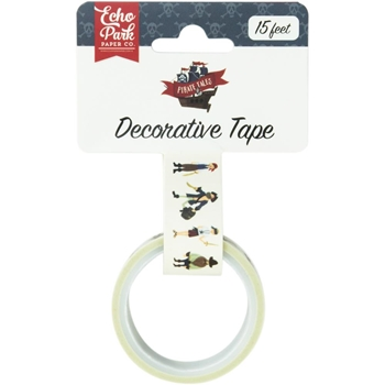 Echo Park PIRATE MATES Decorative Tape pta176027*